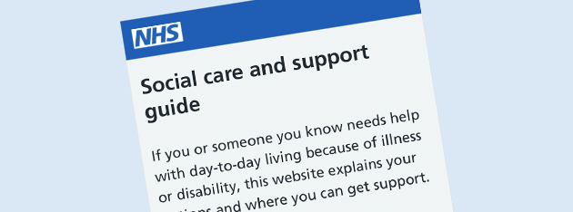 Social Care and Support example