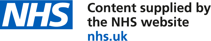Content supplied by the NHS website logo